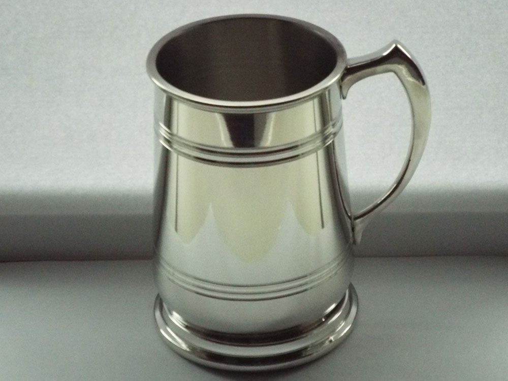 "1 Pint ""The Stout"" Pewter Tankard (T028)"