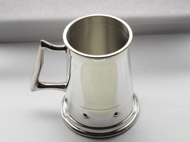 "1 Pint ""The Wentworth Capstan"" Pewter Tankard (T024)"