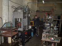 The Tool Room and Forming Press