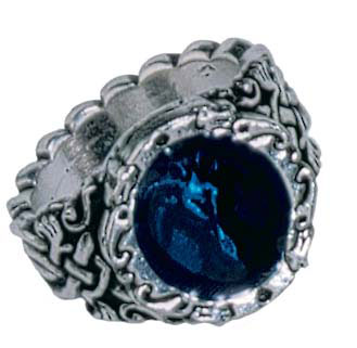 Gothic Pewter Ring