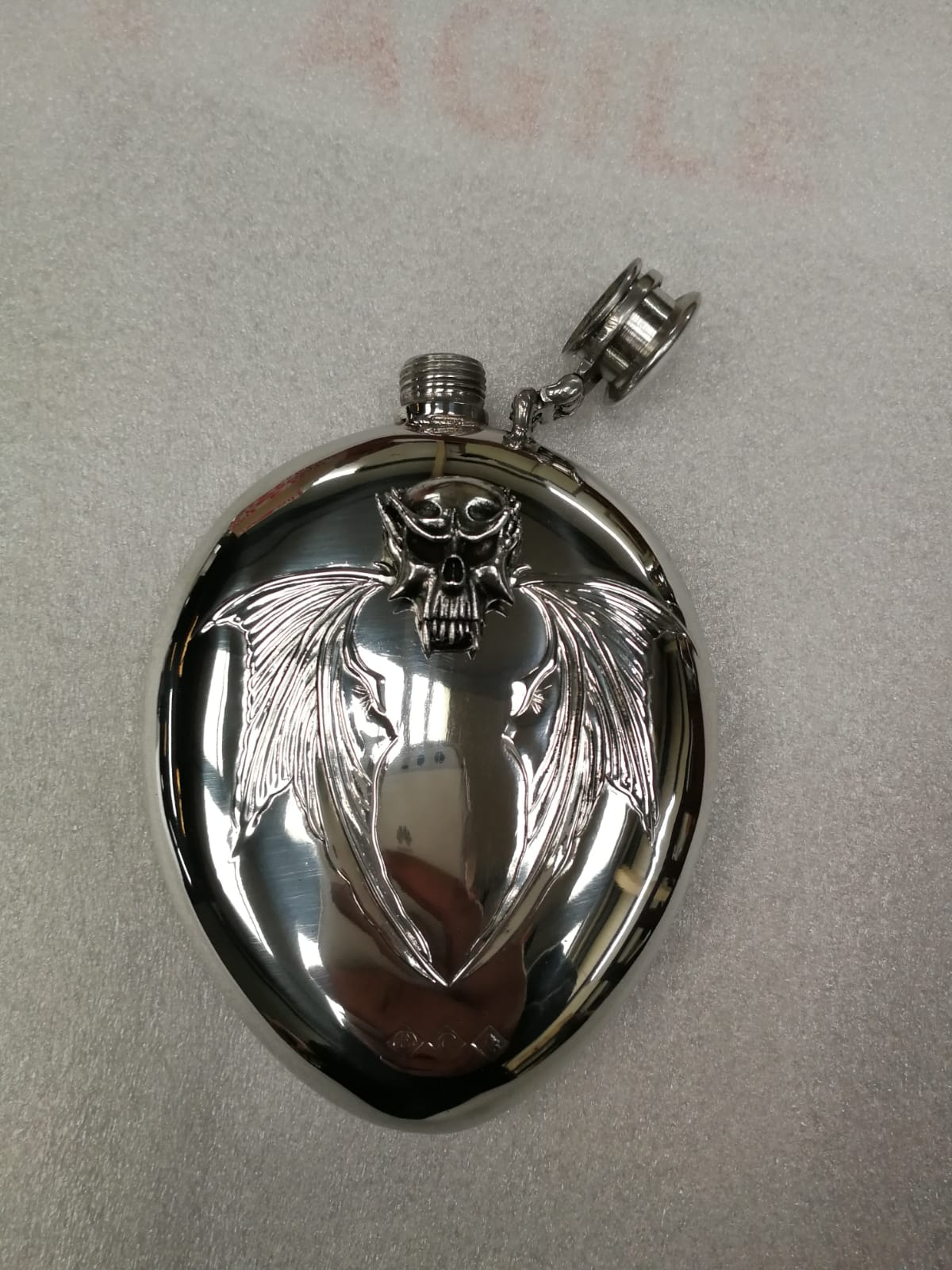 6oz stamped Beast flask (F102)
