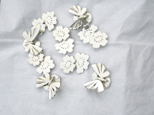 Vanroe Hair Slide Pewter Castings